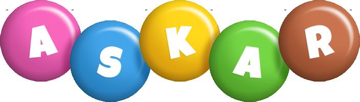 Askar candy logo