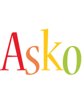 Asko birthday logo