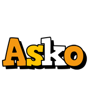 Asko cartoon logo