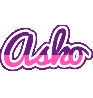 Asko cheerful logo