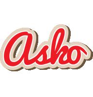 Asko chocolate logo