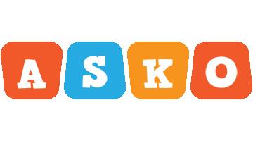 Asko comics logo