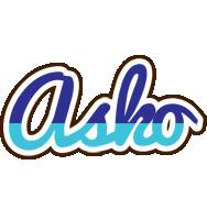 Asko raining logo