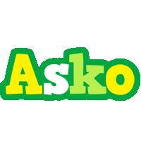 Asko soccer logo