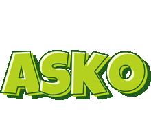 Asko summer logo