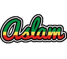 Aslam african logo