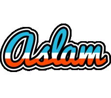 Aslam america logo