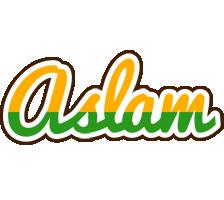 Aslam banana logo