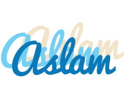 Aslam breeze logo