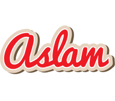 Aslam chocolate logo