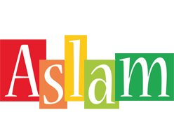 Aslam colors logo
