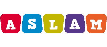 Aslam daycare logo