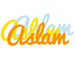 Aslam energy logo