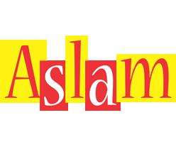 Aslam errors logo