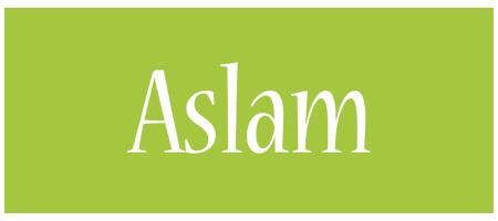 Aslam family logo