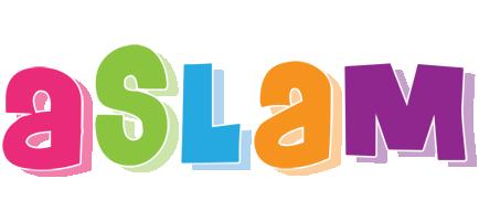 Aslam friday logo