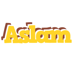 Aslam hotcup logo