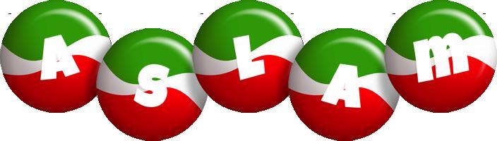 Aslam italy logo