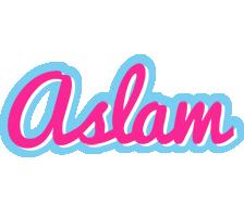 Aslam popstar logo