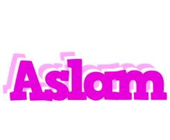 Aslam rumba logo