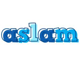 Aslam sailor logo