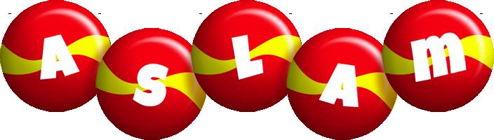 Aslam spain logo