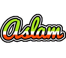 Aslam superfun logo