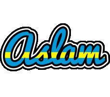 Aslam sweden logo