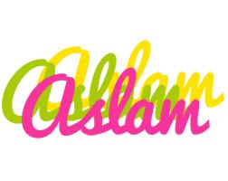 Aslam sweets logo