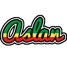 Aslan african logo