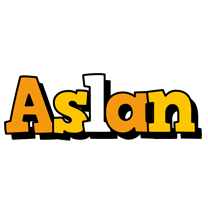 Aslan cartoon logo