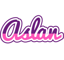 Aslan cheerful logo