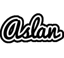 Aslan chess logo