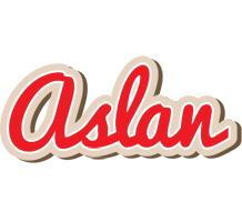 Aslan chocolate logo