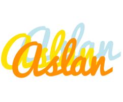 Aslan energy logo