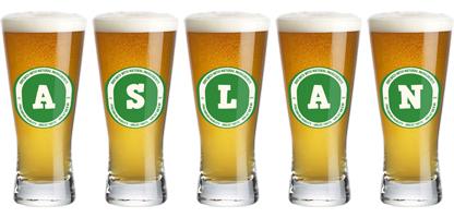 Aslan lager logo