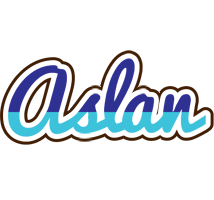 Aslan raining logo