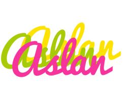 Aslan sweets logo