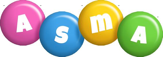 Asma candy logo