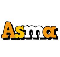 Asma cartoon logo