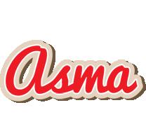 Asma chocolate logo