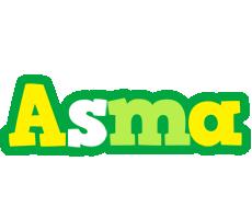 Asma soccer logo
