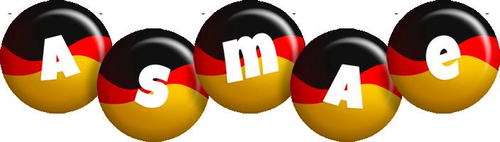 Asmae german logo