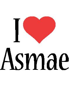 Asmae i-love logo