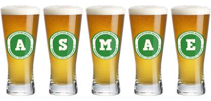 Asmae lager logo
