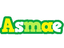 Asmae soccer logo
