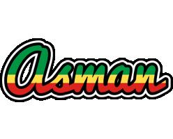 Asman african logo