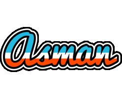 Asman america logo