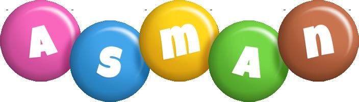 Asman candy logo