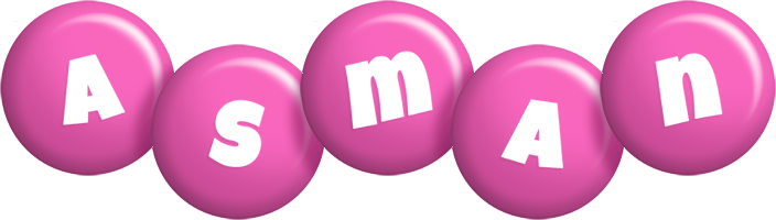 Asman candy-pink logo